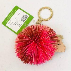 KATE SPADE Porcupine Key Fob Purse Charm